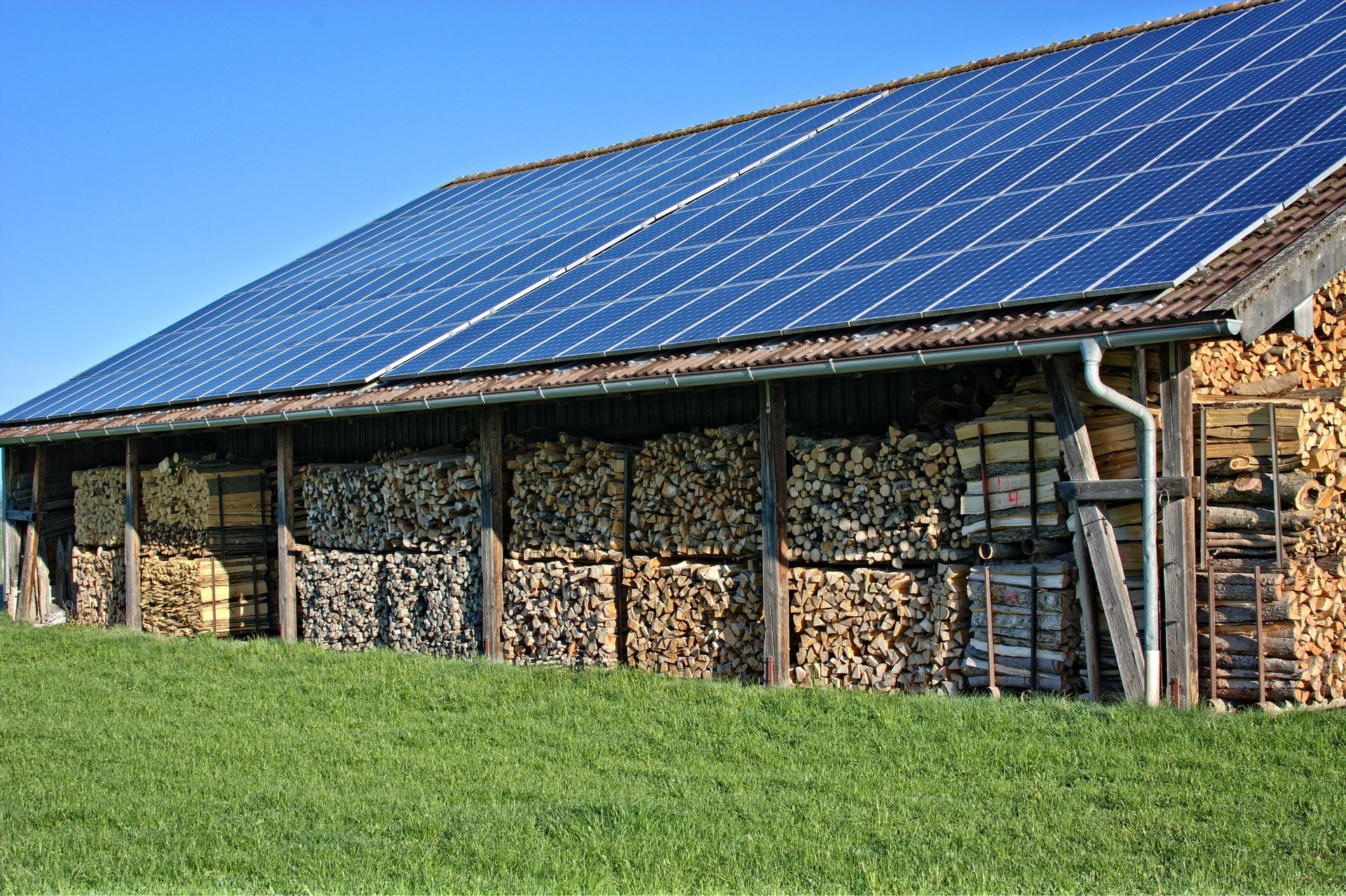 Solární osvětlení a solární panely
