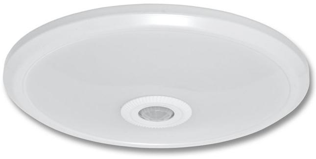LED Deckenleuchte mit Bewegungsmelder 12W Warmweiß