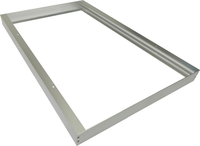 silber led panel mit rahmen 300 x 600mm 30w tageslicht 0 10v gute. Black Bedroom Furniture Sets. Home Design Ideas