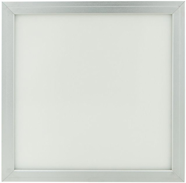 Silber LED Deckenpanel 300 x 300mm 18W Kaltweiß