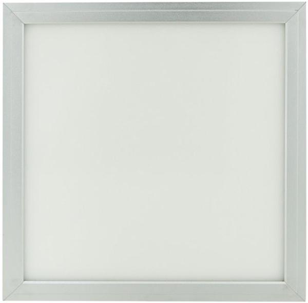 Silber LED Deckenpanel 300 x 300mm 18W Warmweiß