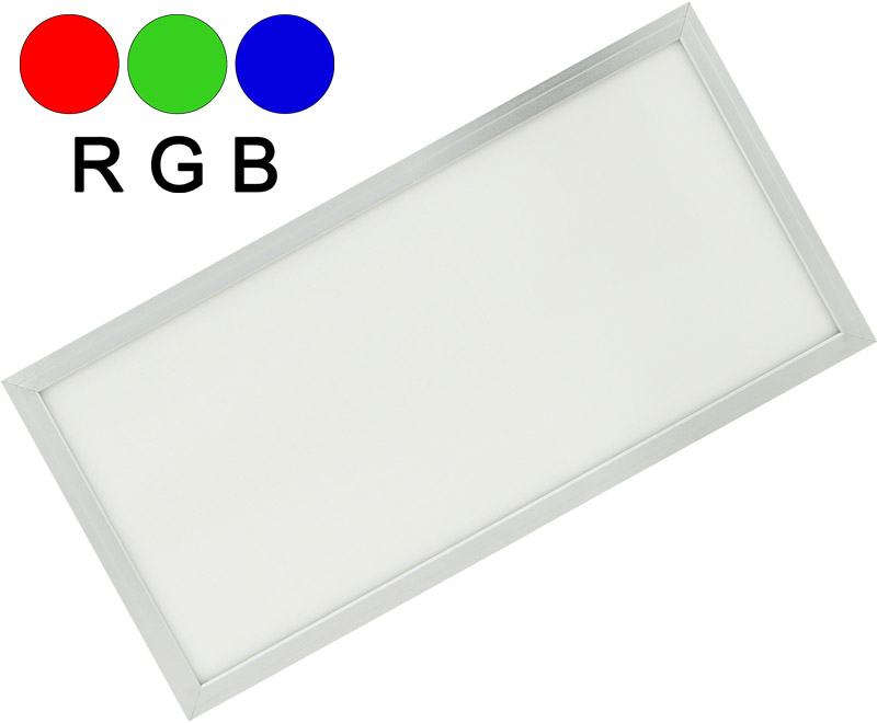 LED Deckenpanel RGB 300 x 600 mm 15W