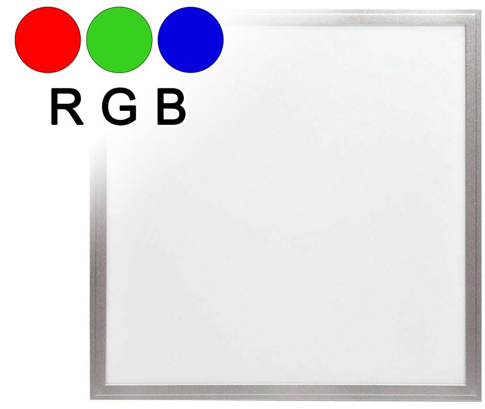 LED Deckenpanel RGB 600 x 600 mm 25W