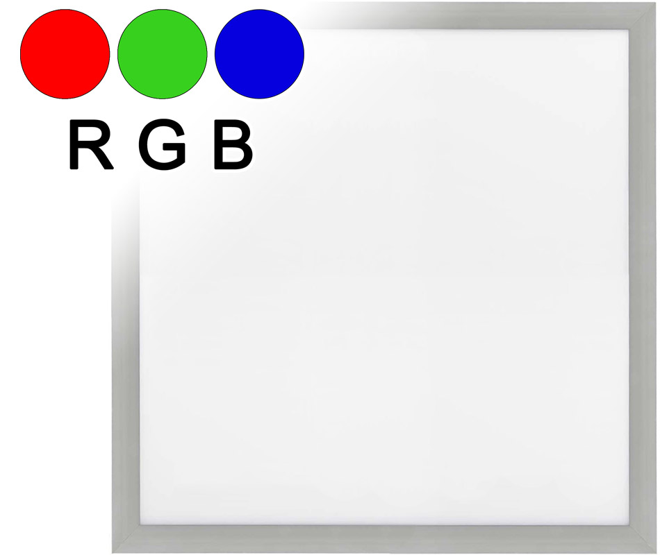 LED Einbaupanel RGB 600 x 600 mm 25W