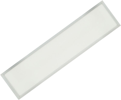 Silber LED Deckenpanel 300 x 1200mm 36W Kaltweiß