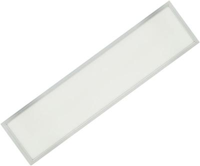 Silber LED Deckenpanel 300 x 1200mm 36W Warmweiß