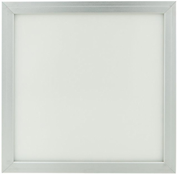 Silber LED Hängepanel 300 x 300mm 18W Kaltweiß