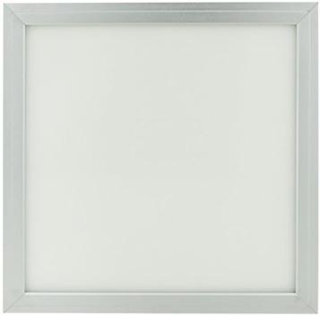 Silber LED Deckenpanel 300 x 300mm 18W Tageslicht
