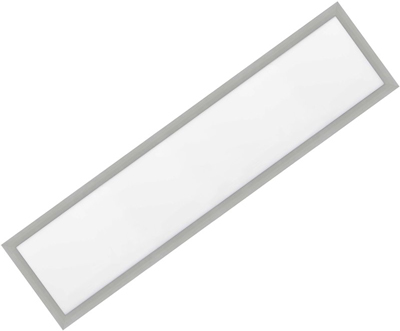 Silber LED Einbaupanel 300 x 1200mm 36W Kaltweiß
