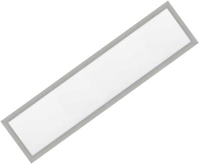 Silber LED Einbaupanel 300 x 1200mm 36W Warmweiß