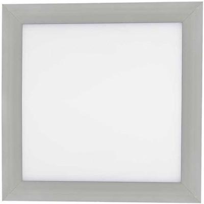Silber LED Einbaupanel 300 x 300mm 18W Warmweiß