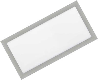 Silber LED Einbaupanel 300 x 600mm 30W Warmweiß