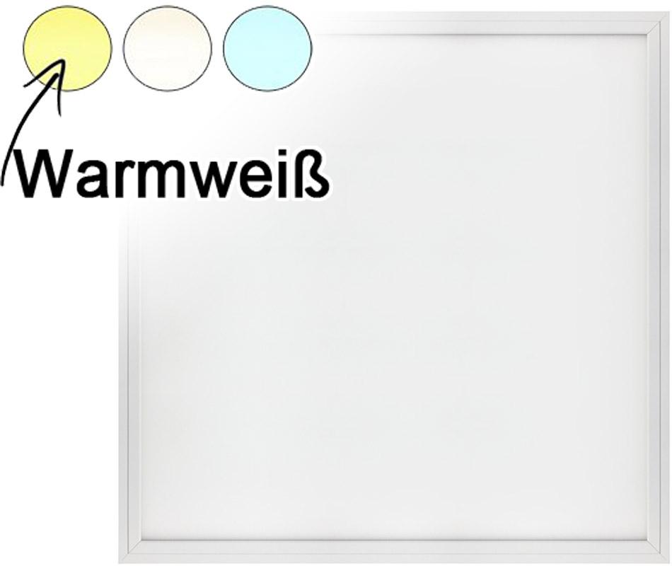 Weißes LED Hängepanel 600 x 600mm 48W Warmweiß