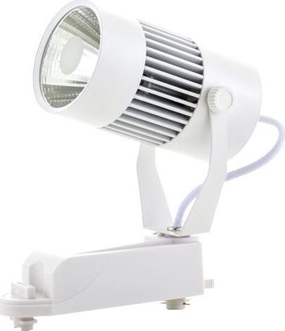 Weisser 1-Phasen schiene LED Strahler 20W Warmweiß
