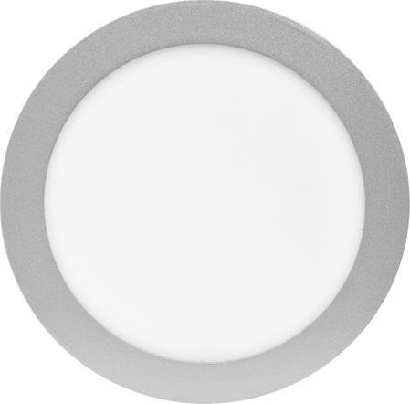 Silber rundes LED Einbaupanel 175mm 12W Warmweiß