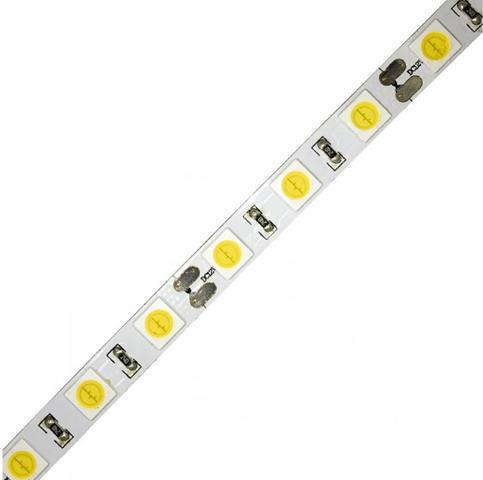 LED pás 6565SMD 24W / m bez krytia studená biela