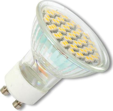 LED Lampe GU10 3,8W Warmweiß, 3 St.