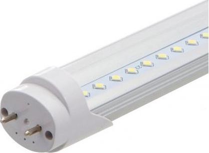 LED Leuchtstoffröhre 60cm 10W durchsichtige Abdeckung Kaltweiß