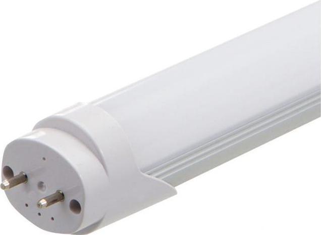 LED trubica 60cm 9W mliečny kryt teplá biela