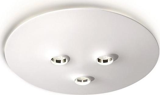 Philips LED Deckenleuchte Metall 3x6W - 69057/31/16
