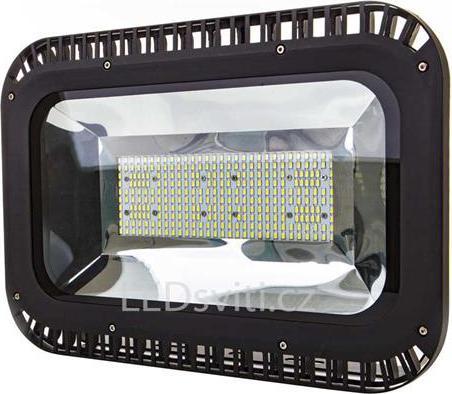 Schwarzer LED Strahler 150W Tageslicht