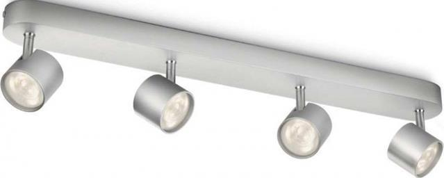 Philips LED Spotleuchte Promo 4x3W - 56244/48/16