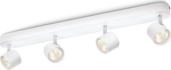 Philips LED Wandleuchte Metall Galax 4x2,5W - 45591/17/16