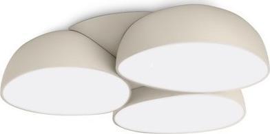 LED Deckenkronleuchter Stonez cream 9x2,5W - 40828/38/16