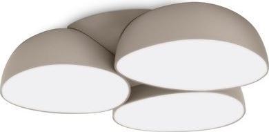 Philips LED Moderner Deckenkronleuchter Stonez grey 9x2,5W - 40828/87/16