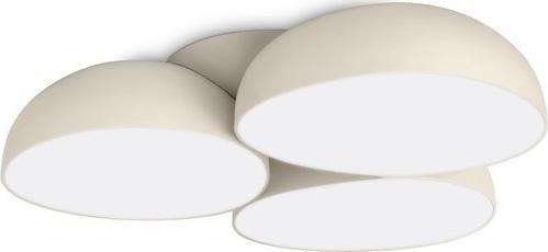 LED Deckenkronleuchter Stonez cream 12x2,5W - 40829/38/16