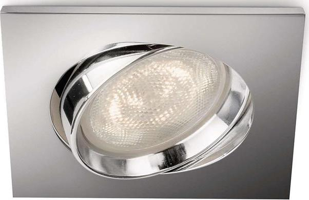 Philips LED Einbaustrahler Galileo Chrom 1x3W - 59081/11/16