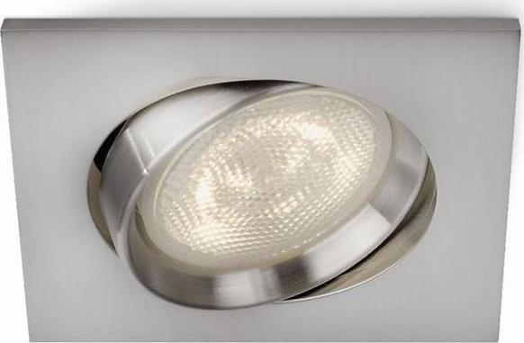 Philips LED moderne Wandleuchte Countdown Aluminium 1x2.5W - 33621/48/16