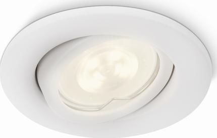 Philips LED Spotleuchte Dyna weiß 2x3W 230V - 53232/31/16
