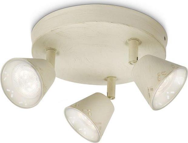 Philips LED Spotleuchte Idyllic weiß geschliffen 3x3W - 53259/29/16