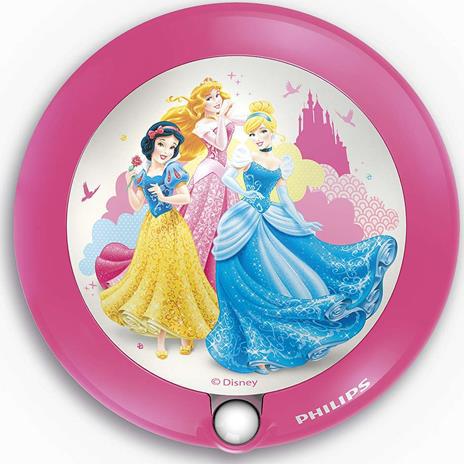 Kinderzimmer Nachtlicht mit Sensor Prinzessin - 71765/28/16
