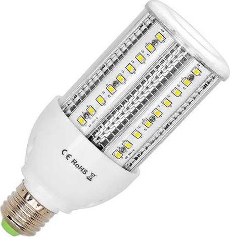 LED priemyselná žiarovka E27 28W teplá biela