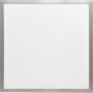 Stříbrný závěsný LED panel ECO 600 x 600mm 36W studená bílá