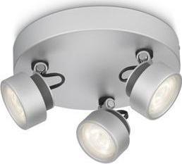 Philips LED rimus lampe spot aluminium 3x3w 53279/48/16