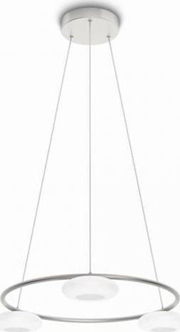 Philips Tarbert LED Pendelleuchte Aluminium 3x4.5W - 37211/48/16