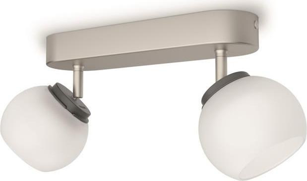 Philips Balla LED Deckenstrahler Chrom 2x4W - 53322/17/16