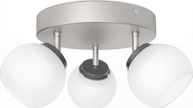Philips Balla LED Deckenstrahler Chrom 3x4W - 53323/17/16