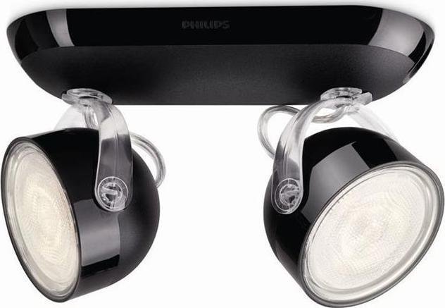Philips Fremont LED Spotleuchte bronzen 2x4W - 53332/06/16