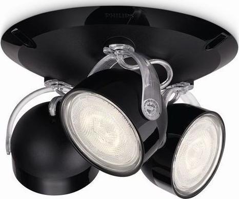 Philips Fremont LED Spotleuchte Chrom 3x4W - 53333/17/16