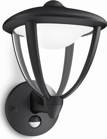 Philips LED robin lampe außen wand schwarze 4,5w 15479/30/16