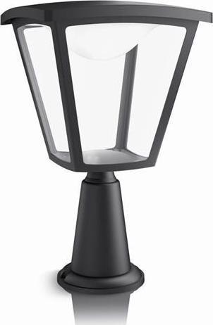 Philips LED cottage außen lampe pfeiler schwarze kleiner 4,5w 15482/30/16