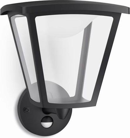 Philips LED cottage außen lampe wand schwarze 4,5w 15488/30/16