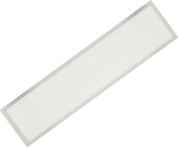 Silber LED Panel mit Rahmen RGB 300 x 1200 mm 30W