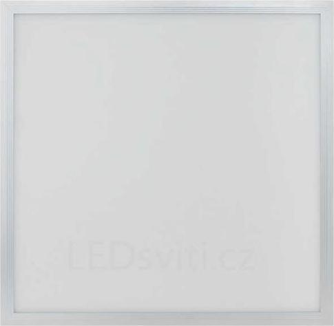 Silber LED Panel mit Rahmen RGB 600 x 600 mm 25W