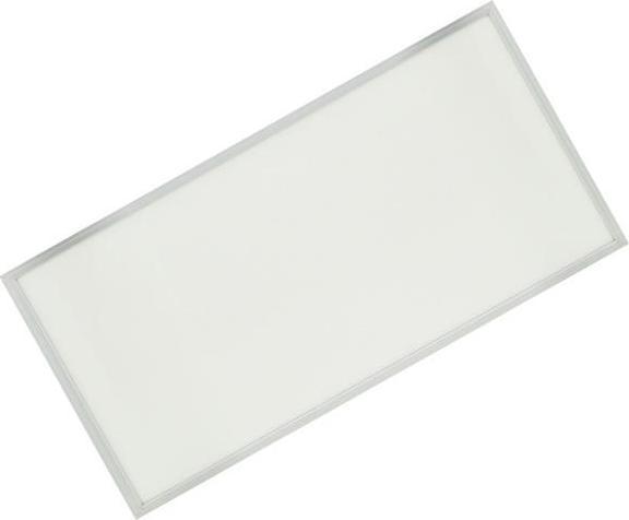 Silber LED Panel mit Rahmen 600 x 1200mm 72W Kaltweiß (0-10V)