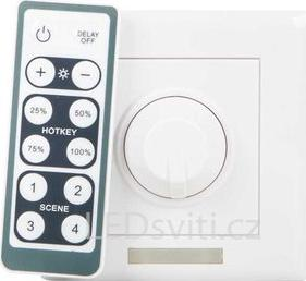 Dimmer mit Controller 12V 6A 72W